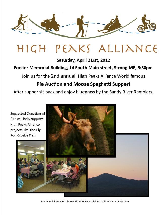 High Peaks Alliance Benefit Dinner