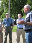 Historical Tour of Phillips during FRC Trail Dedication in August, 2012