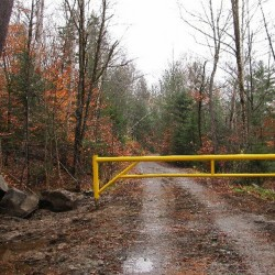 Gated roads and posted, private property are increasing in the High Peaks.